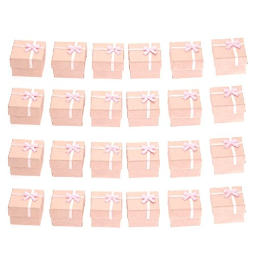 Textured Chandelier Earrings (24Pc Ring Earring Square Jewellery Gift Case Boxes Display Package)