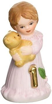 Growing up Girls from Enesco Brunette Age 1 Figurine 1.75 IN by Enesco