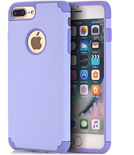 iPhone 7 Plus Case,CaseHQ Extreme Heavy Duty Protective soft rubber TPU PC...