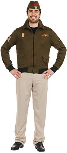 Adult Small 36-38 Vintage 1940's WWII Commander General Eisenhower Costume (1940 Fancy Dress Costumes)
