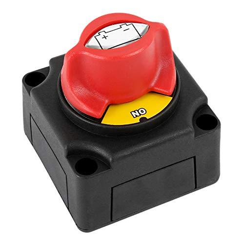 TOOGOO Sectionneur DIsolateur Batterie Automobile 300A Commutateur de D/éconnexion de Disjoncteur pour Bateau Voiture Yacht ATV