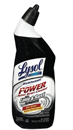 LYSOL Power Toilet Bowl Cleaner with Rust & Lime Remover ...