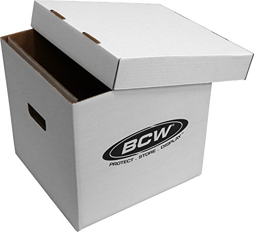 BCW BX 33RPM BOX Record Storage Removable Records