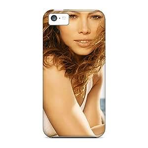 Hot Fashion YrfVjak6964nQypK Design Case Cover For Iphone 5c Protective Case (jessica Biel Smile)