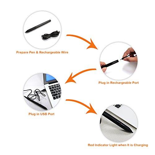 GAOMON ArtPaint AP20 Wireless Digital Art Stylus Environmentally-friendly Rechargeable Pen for GAOMON S56K & M106K Tablet by GAOMON (Image #2)