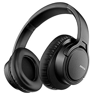 Mpow H7 Cuffie Bluetooth, Cuffie Over-Ear con Autonomia 18 Ore, Cuffie Chiuse Wireless 4.1 CSR, Cuffie Bluetooth Senza Fili con Microfono, Cuffie per iPhone/iPad/Samsung/Sony/Huawei Altri Telefoni/PC
