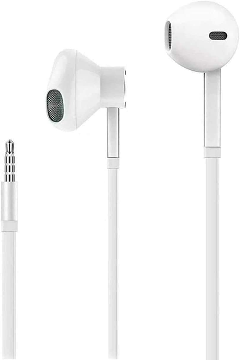 Premium in-Ear Wired Earbuds with Remote & Mic Compatible for iPhone 6s/plus/6/5s/se/5c/iPad/Samsung/MP3/Android