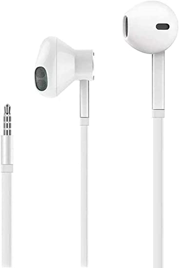 Amazon Com Premium In Ear Wired Earbuds With Remote Mic Compatible For Iphone 6s Plus 6 5s Se 5c Ipad Samsung Mp3 Android Home Audio Theater