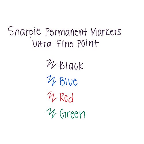 Sharpie Permanent Markers, Ultra-Fine Point, Black, 24-Count by Sharpie (Image #4)