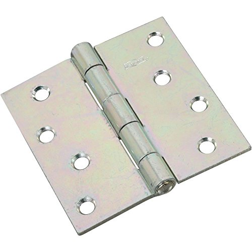 (National Hardware N261-669 V505 Non-Removable Pin Hinge in Zinc plated)