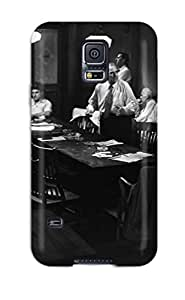 ZippyDoritEduard Perfect Tpu Case For Galaxy S5/ Anti-scratch Protector Case ( Angry Men ())