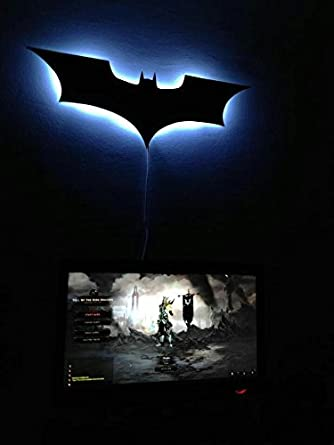 Buy night light batman light super hero lights led light night light batman light super hero lights led light wall lamps aloadofball Choice Image