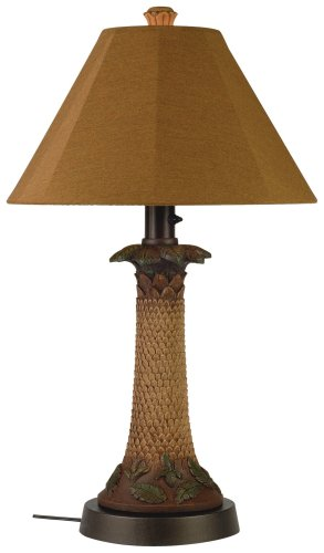 Palm 36957 Bark 35-inch Table Lamp by Patio Living Concepts