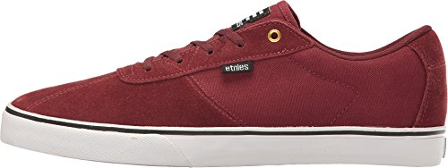 Etnies Scam Vulc, Color: Burgundy, Size: 41.5 EU (8.5 US / 7.5 UK)