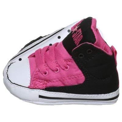 - Converse Chuck Taylor All Star First Star High Street Hi Model Pink/Black/White (Infant/Toddler) (1 Infant M)
