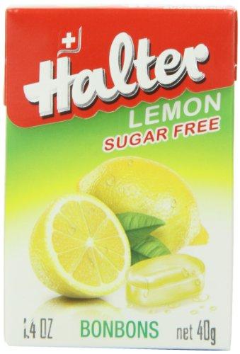 (Halter Sugar-Free Bonbons, Lemon 1.40 oz (Pack of)