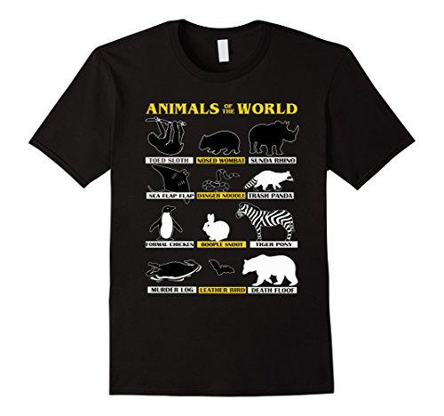 Rarest Animals On Earth T-Shirt (Rarest Animals)