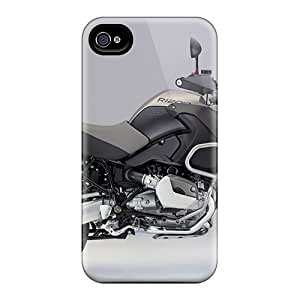 Iphone 4/4s AOD6953WSIl Unique Design Lifelike Bmw R 1200 Gs Skin Scratch Protection Hard Phone Cover -CharlesPoirier