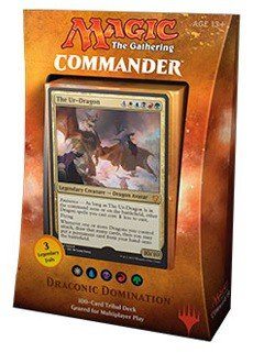 Magic The Gathering MTG Commander 2017 Deck – Draconic Domination