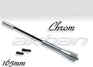 Antena corta antc165 Diseño Cromo 168 mm Seat Ibiza Leon ...