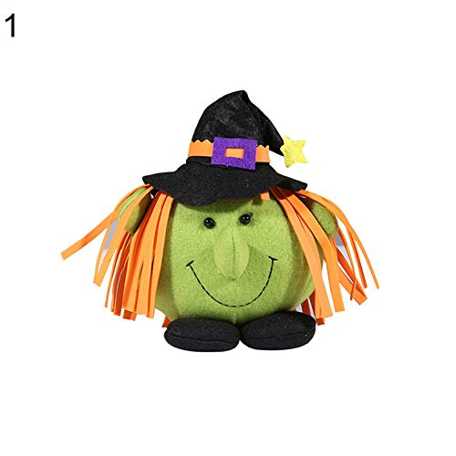 Wall of Dragon Halloween Pumpkin Witch Doll Party Home Showcase Shopping Mall s Decor Gift Halloween Doll