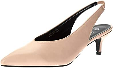 Kidderminster Spot On Heeled Slingback For Womens