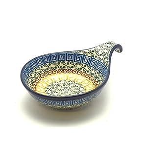 Polish Pottery Spoon/Ladle Rest – Autumn