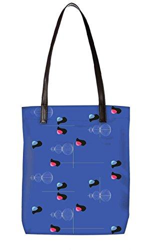 Snoogg Strandtasche, mehrfarbig (mehrfarbig) - LTR-BL-2450-ToteBag