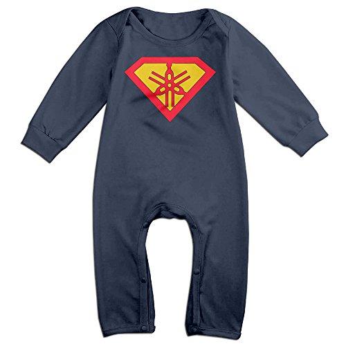 vanillabubble-superyama-mark-for-6-24-months-toddler-new-design-tshirt-navy-size-24-months