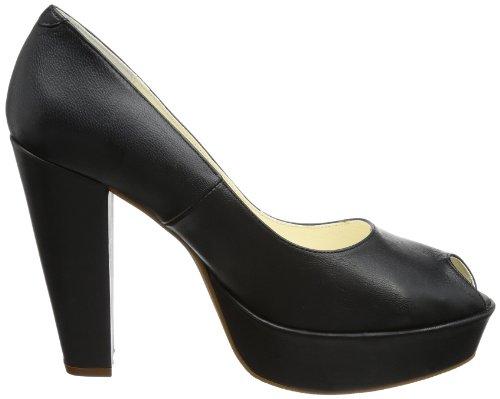 Johannes Schwarz Hi Femme Noir Slippers Siska negro W top schwarz qrw1nq07