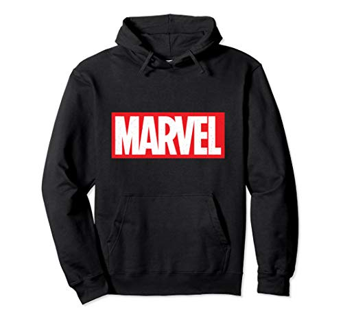 Marvel Classic Logo Hooded Sweatshirt