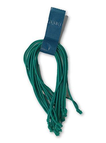 Clucker-Truss Elastic Gourmet Trussing Strings; 5 Inch Green; Pkg of 60