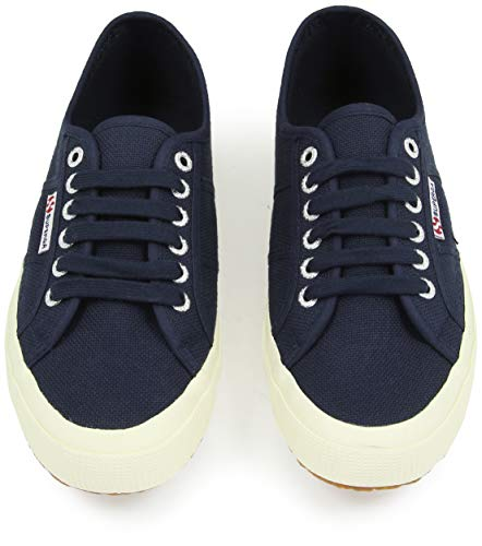 Unisex Classic 2750 navy Superga Sneaker top Low Cotu Adults' 933 Blue FqxBC