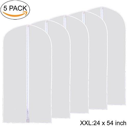 garment bags white - 7