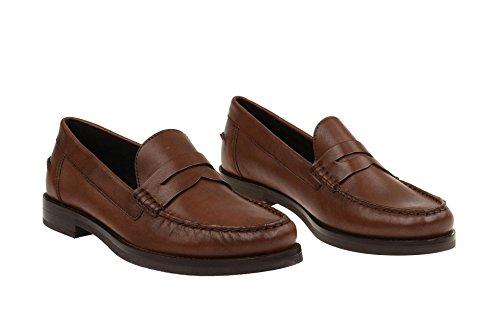 Geox D64r3b 00043c0013 - Mocasines de Piel para mujer marrón