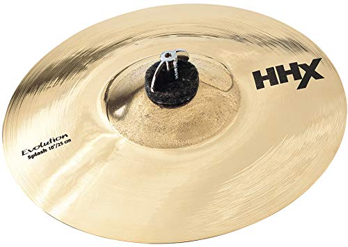 Sabian 10-Inch HHX Evolution Splash Brilliant Finish Cymbal