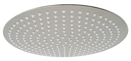 Alfi Brand Rain16r 16 Inch Solid Round Ultra Thin Rain Shower Head