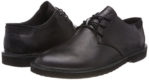 Camper Hombre Zapatos para de 1 Oxford Black cordones Morrys Negro r7qZxYr