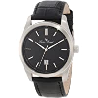 Lucien Piccard Men's LP-11568-01 Eiger Black Leather Watch