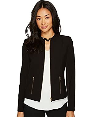 Womens Lux Jacket with Zip