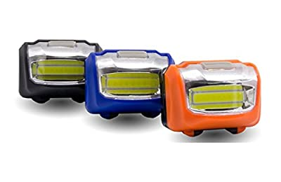 MYWHITENG LED Headlamp, Super Bright LED Headlight, 3 Modes Mini Headlamps Headlight Portable LED Lamp for Camping, Running, Hiking and Reading (3-PACK)