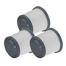 Black and Decker PHV1810 / PHV1210 Pivot Vac PVF110 (3 Pack) Replacement Filter # 90552433-01-3pk
