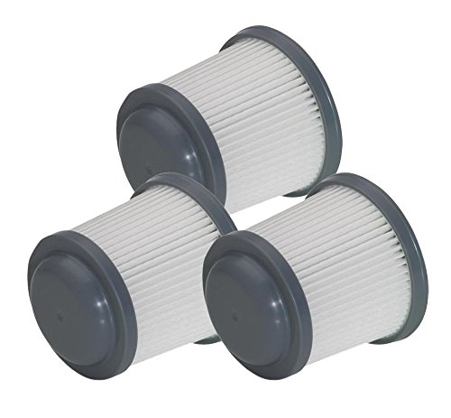 Black and Decker PHV1810 / PHV1210 Pivot Vac PVF110 (3 Pack) Replacement Filter # 90552433-01-3pk (Pivot Vac compare prices)