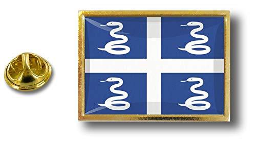 Clip Akacha de Con Martinica Pin Pins Badge Pin Bandera Mariposa Metal de rwarY6p
