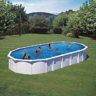 Kit Piscine Semi Enterree Acier Dreampool 8 1x4 7x1 5m Gre Pools