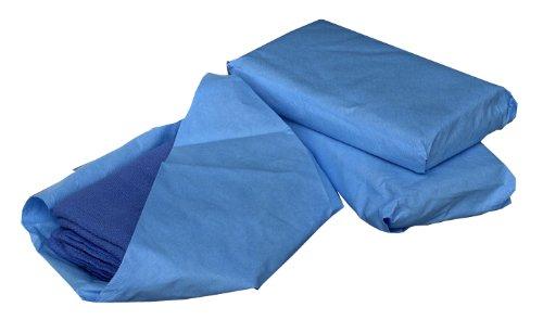 Medline MDT2168284 Sterile Disposable Surgical Towels, Standard, Blue (Pack of 80)