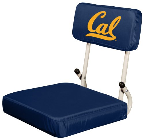 Logo Brands NCAA California Golden Bears Hard Back Stadium Seat
