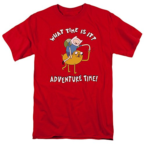 camiseta hombre rojo Adventure para Time Bump Ride CUxtUq