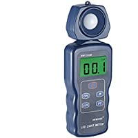 Neewer LED Light Meter Digital Luxmeter Illuminance Meter Handheld Actionometer with German Engineered Optical Sensor,LCD Display,270 Degree Rotatable Detector,Range 0.1-200,000 Lux/0.01FC-20,000FC