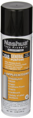 Nashua Low VOC General Purpose Spray Adhesive, Clear (Adhesive Spray Purpose General)